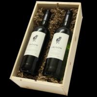 Wijnkist El Potro Frison 2 vaks