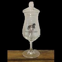 Frysk Hynder Glas met glazen deksel