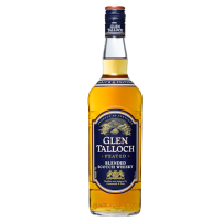 Glen Talloch Whisky Blended Scotch Peated 70cl